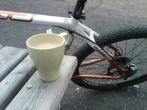 tea and bike