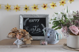 Easter blackboard