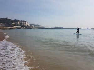 Paddle, boarding, Dover, Harbour, water, sports