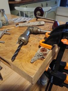 Driftwood cupboard handles