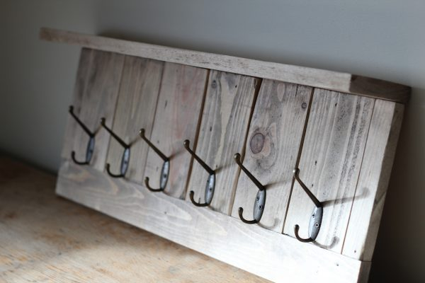 Roxy coat hook shelf